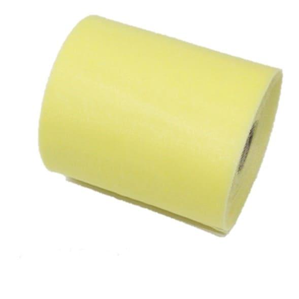 Tul liso color amarillo claro