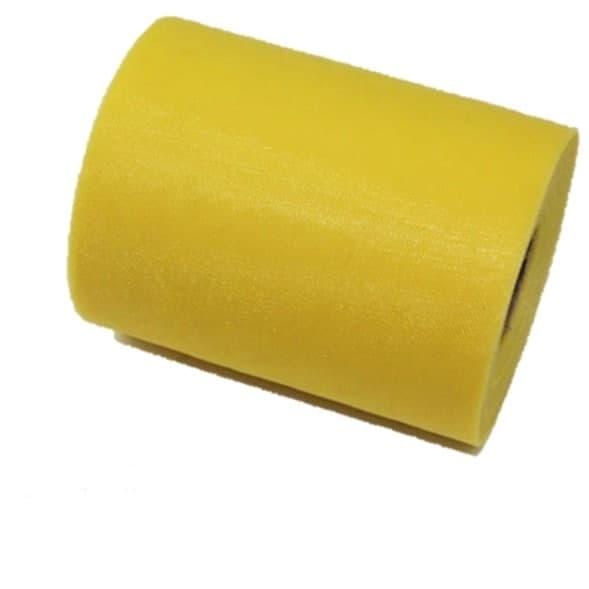 Tul liso color amarillo