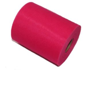 Tul liso color fucsia