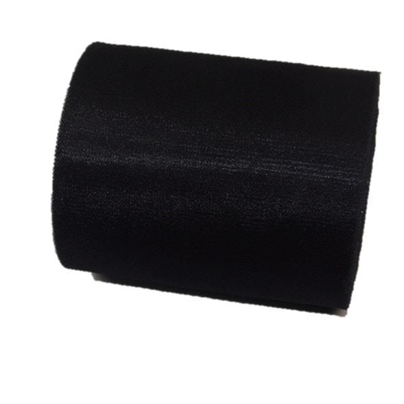 Tul liso color negro