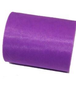 Tul liso púrpura