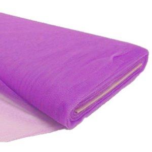 Tul liso por metro color purpura