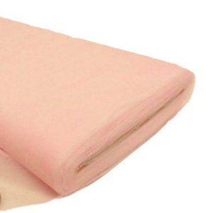 Tul liso por metro color rosado